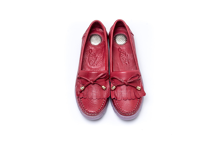 Also Makos Leather Shoes - Red