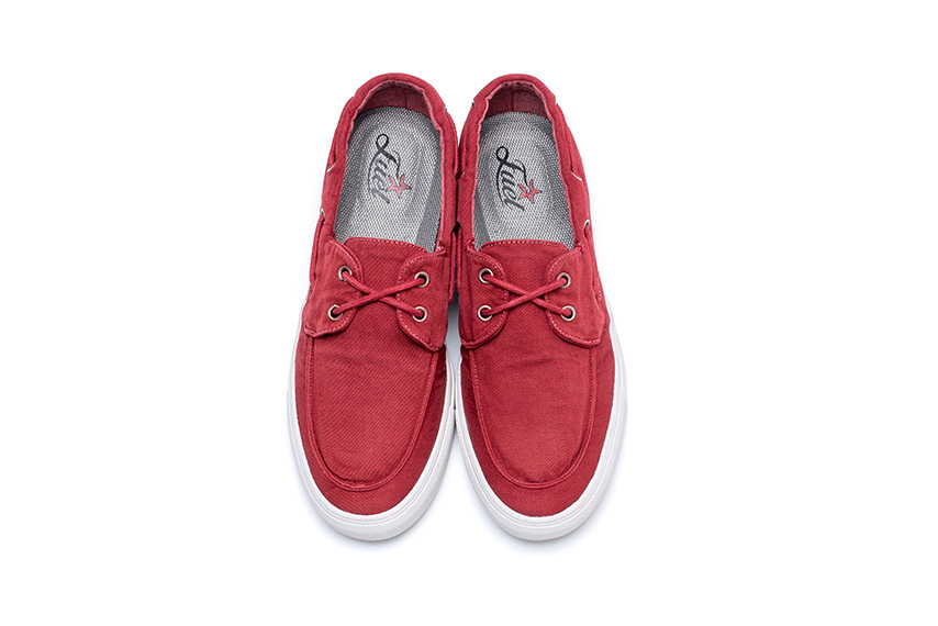 Lotus Linen Shoes - Bordeaux