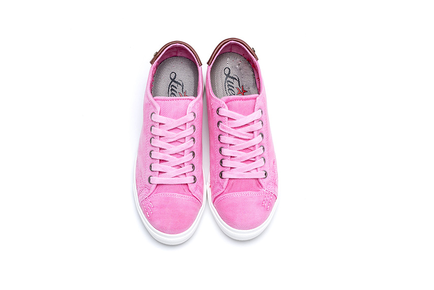 Ares Linen Shoes - Pink