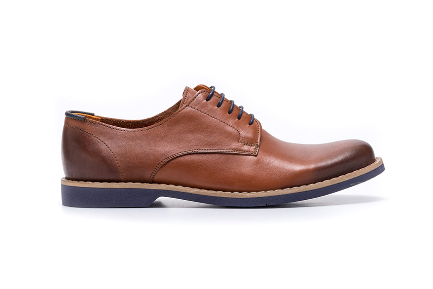 Classico Leather Shoes - Brown
