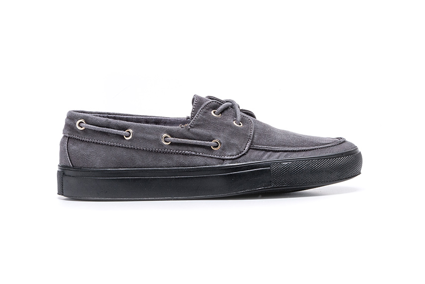Lotus R-R Linen Shoes - Anthracite
