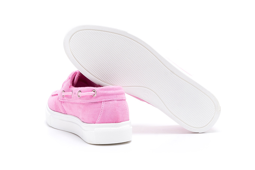 Lotus Linen Shoes - Pink