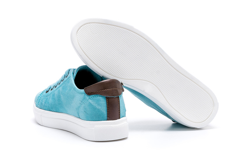 Ares Leinenschuhe - Sea Green