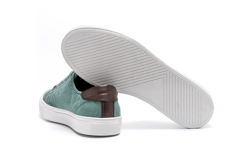 Ares Linen Shoes - Green