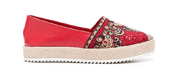 Autentico - Textiles - Leather Shoes - Red