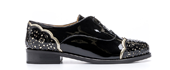 Kilasika Leather Shoes - Black Gold